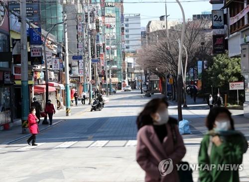 '휴장·폐쇄' 인적없는 전국 도심·관광지…적막감까지