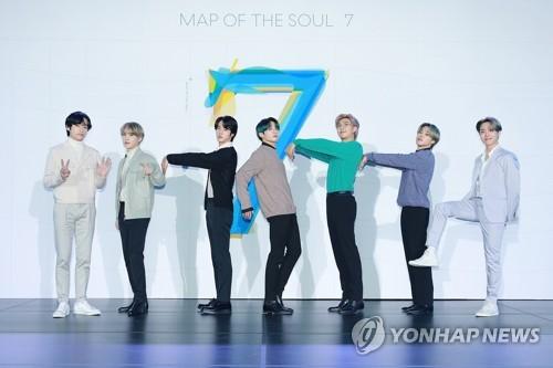 방탄소년단, 또다시 美·英 팝차트 석권…K팝 새 역사(종합2보)