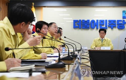 당정청, '코로나 차단' 행정력 총동원…'대구봉쇄' 언급 뒷수습