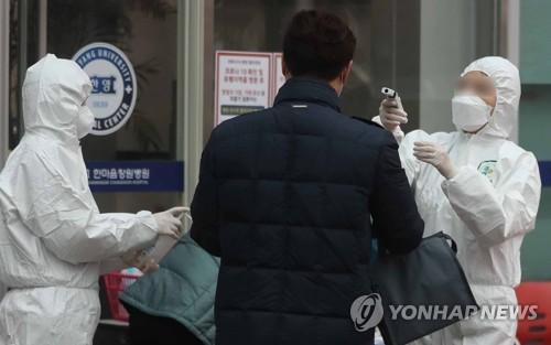 의료진 2명 확진 판정받은 한마음창원병원 긴장 속 재개원