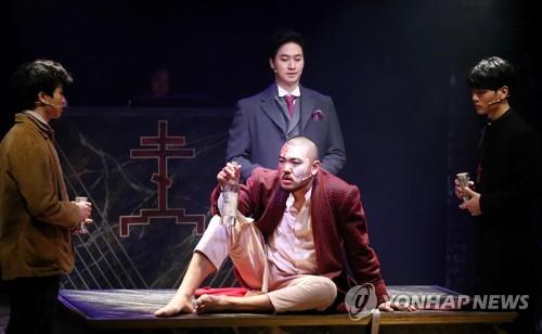 선과 악의 의미를 묻다… 뮤지컬 '브라더스 까라마조프'