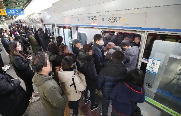 (자료사진) 서울 지하철 1호선 구로역. 연합뉴스