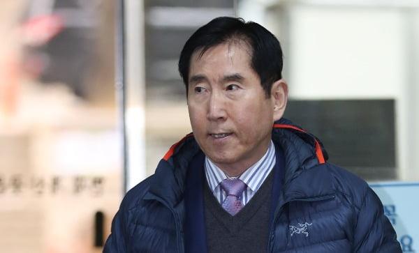 이명박정부 당시 댓글 조작을 지시한 혐의로 기소된 조현오 전 경찰청장. 연합뉴스