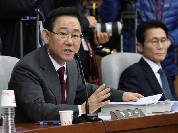 미래통합당 주호영 의원이 유시민 노무현재단 이사장을 강도 높게 비판했다. /사진=연합뉴스