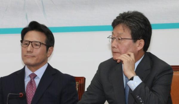 정병국 새로운보수당 의원과 유승민 새보수당 보수재건위원장 (왼쪽부터) /사진=연합뉴스