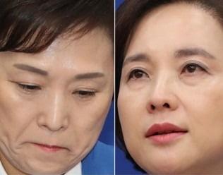 (왼쪽부터)총선 불출마를 선언한 김현미 국토부 장관과 유은혜 사회부총리. /연합뉴스