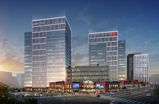 동탄테크노밸리에 들어서는 복합 지식산업센터 내 상업시설 '현대 실리콘앨리 스퀘어 동탄'
