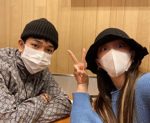 지오와 최예슬 / 사진 = 최예슬 인스타그램