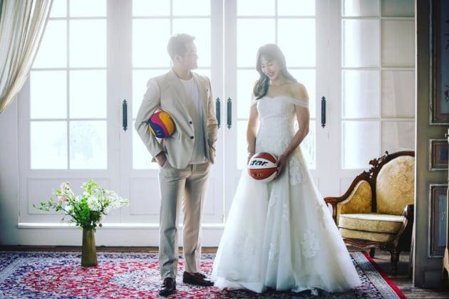 김단비 결혼 /사진=인스타그램