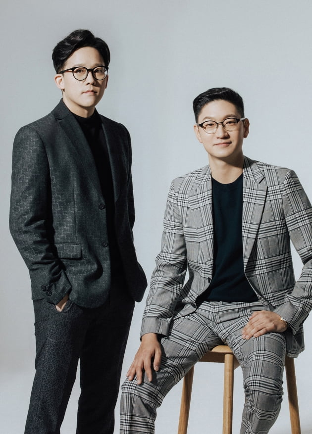 SM엔터테인먼트 공동 대표 이사 이성수(좌측), 탁영준(우측)/사진=SM엔터테인먼트
