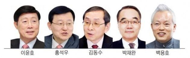 사외이사로 서로 모셔가는 'MB정부 장관들'