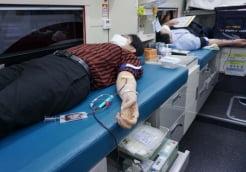 한세예스24홀딩스 임직원, 코로나19 사태에 헌혈 동참