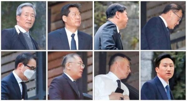 故 정주영 회장 19주기에 모인 범현대家