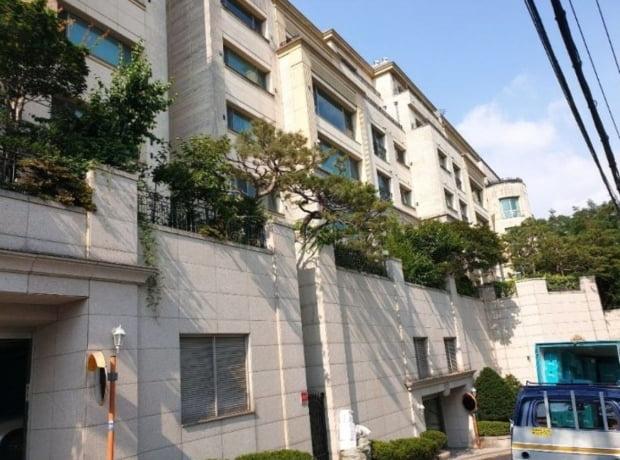 경매에 나온 방배동 '프레스턴' 아파트(자료 지지옥션)