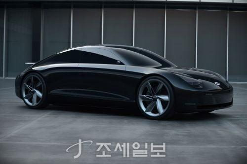 현대차, 미래 전기차 콘셉트카 '프로페시' 공개