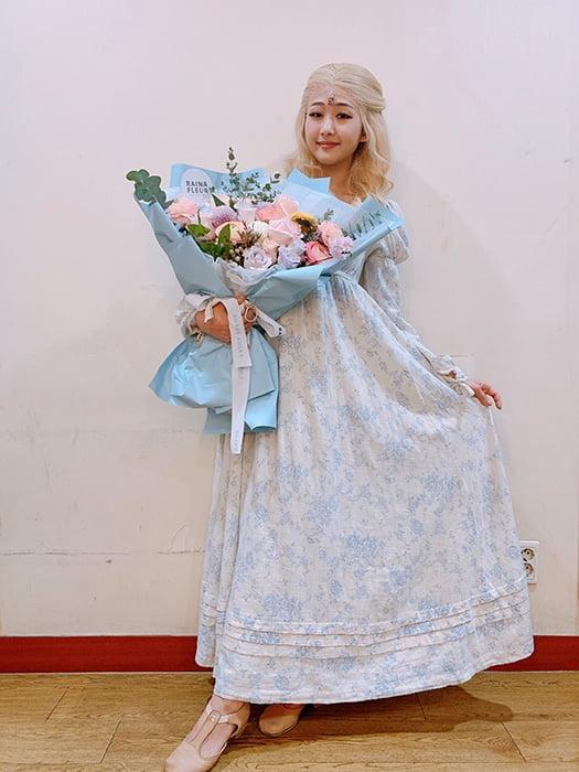 이수빈, 뮤지컬 '웃는남자' 호평 속 성료…'섬세하고 탄탄한 연기력'
