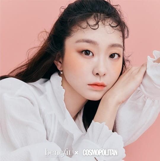'이태원 클라쓰' 김다미, 메이크업 브랜드 모델 발탁→상큼한 블러셔 화보컷 공개