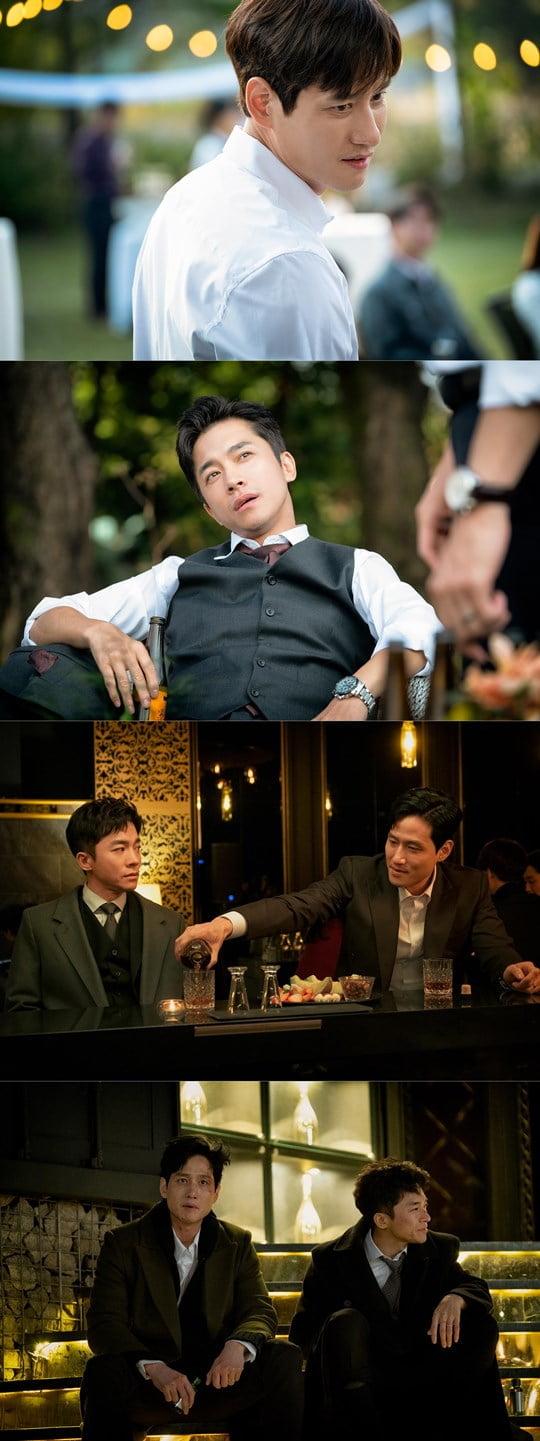 '부부의 세계' 박해준과 김영민 (사진= JTBC 제공)