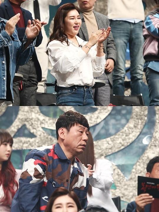 '복면가왕' 송가인, 이건우 (사진= MBC 제공)
