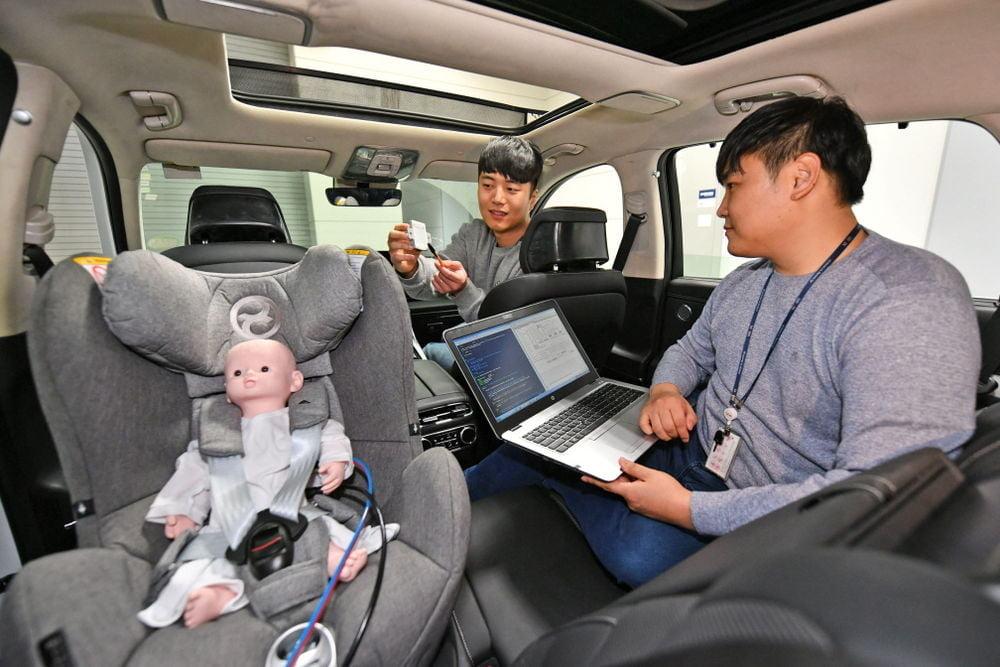 현대모비스, 레이더로 뒷자리 승객 감지