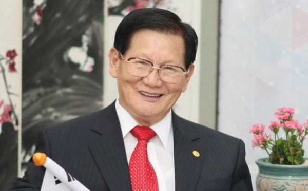 이만희 신천지 총회장.