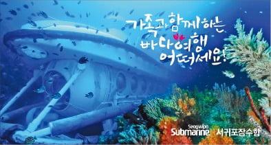 서귀포잠수함, 수심 40m서 관광…'잠수함 무사고' 기네스 기록