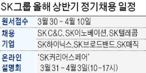 """SK, 첫 온라인 채용박람회…""""31일 유튜브서 입사 꿀팁 알려드려요"""""""
