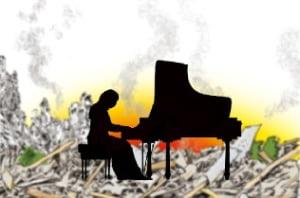 [천자 칼럼] 한국 와서 울어버린 '피아노 검투사'