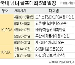 "KPGA투어도 결국…""개막전 무기한 연기"""
