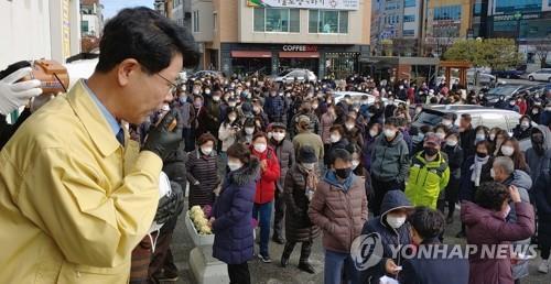 """강릉서 중국인 유학생 코로나19 확진…""""국내 처음"""""""