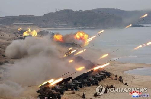 '하노이 노딜' 1주년 맞춘 북한군 합동타격훈련, 규모 가장 적어