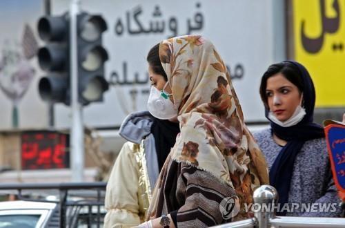 이란 코로나19 사망 54명, 확진자 1천명 육박