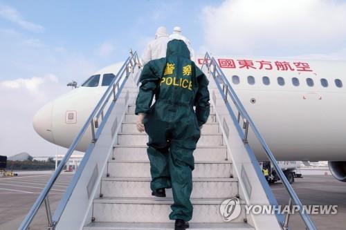 인천→中옌청 여객기 탔던 중국 승객 코로나19 확진