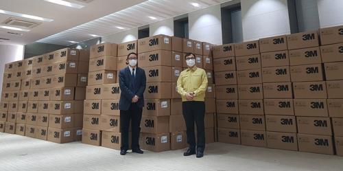 '상하이 마스크' 50만개 한국행…이르면 오늘 대구 도착
