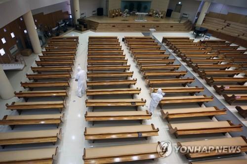 주일 예배 참석자 코로나19 확진…광주시, 예배 중단 거듭 촉구