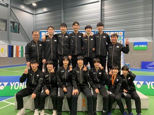 한국 주니어배드민턴, 네덜란드오픈서 은 3개·동메달 1개 수확