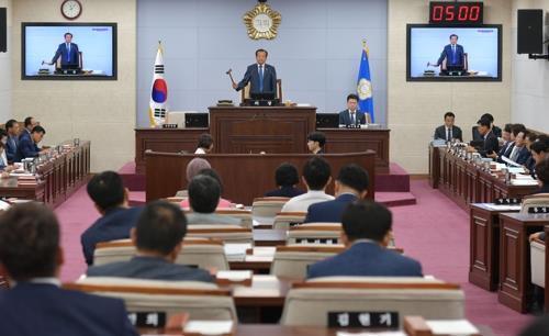 """""""코로나19 방역 집중""""…청주시의회, 3월임시회 일정 하루로 축소"""
