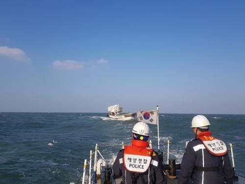 부안해경, 서해 앞바다서 표류 어선 승선 4명 구조