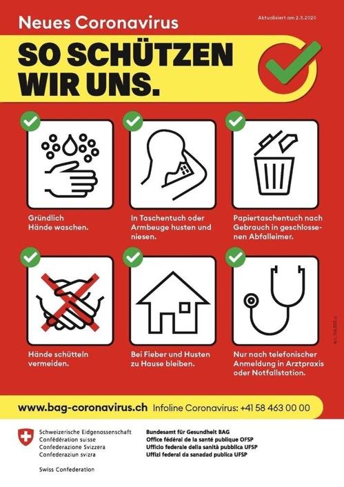 스위스, 코로나19 확진자 24명…12개 주로 확산