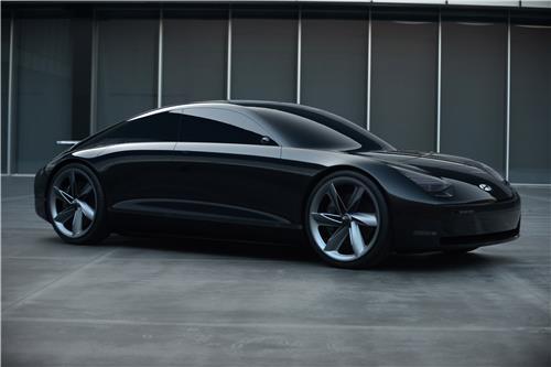 """현대차 새 EV 콘셉트카 '프로페시' 공개…""""디자인 방향성 제시"""""""