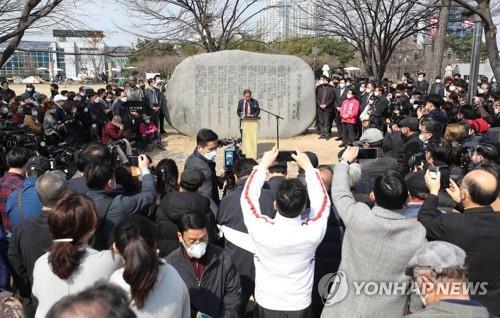 """홍준표 """"협잡·기망 공천 희생양…살려줄 곳은 대구뿐""""(종합2보)"""