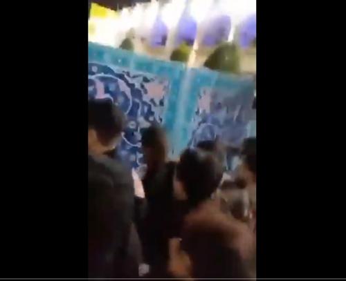 이란서 성지 문 닫자 보수 종교세력 진입 시도…경찰과 충돌