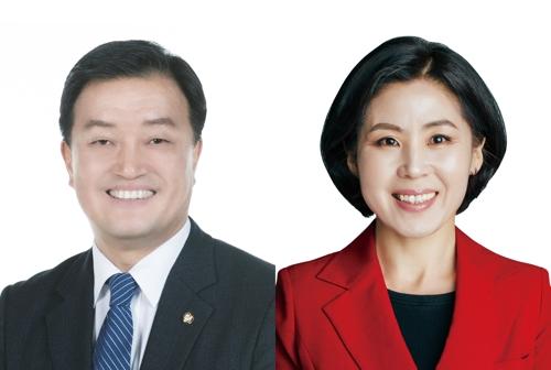 """""""제2 센텀 개발 박차""""…해운대을 윤준호·김미애 공약경쟁"""