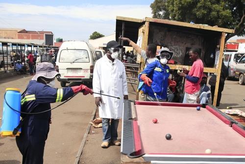짐바브웨 첫 코로나19 확진자 발생…빅토리아폭포 거주민