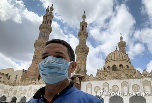 이슬람 수니파 총본산 이집트 알아즈하르도 예배 중단