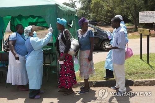 아프리카 40개국서 코로나19 확진자 1천100명 넘어서