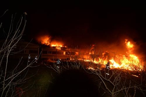 남양주 가전제품 창고에 불…1억 6천만원 피해