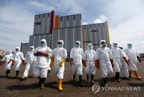 인도네시아 코로나19 확진자 514명·사망 48명…계속 증가(종합)