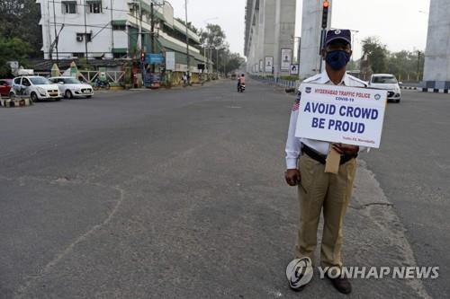 인도, 코로나19로 하루 통행 제한…스리랑카 교도소 폭동(종합)