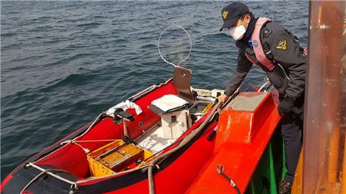 동해해경 좌초 어선·표류 고무보트 잇달아 구조